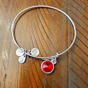 🎈2/$15 Alex and Ani bracelet- January